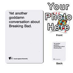 Cards Against Humanity E1 2 By Erik   Multi Purpose Cards (rectangle)   Z7dhs0hxdibl   Www Artscow Com Front 7