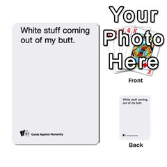 Cards Against Humanity E1 2 By Erik   Multi Purpose Cards (rectangle)   Z7dhs0hxdibl   Www Artscow Com Front 8