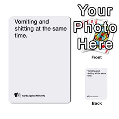 Cards Against Humanity E1 2 By Erik   Multi Purpose Cards (rectangle)   Z7dhs0hxdibl   Www Artscow Com Front 10