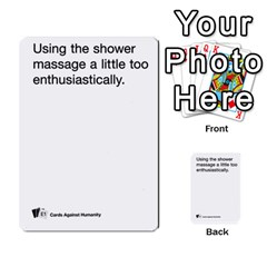 Cards Against Humanity E1 2 By Erik   Multi Purpose Cards (rectangle)   Z7dhs0hxdibl   Www Artscow Com Front 11