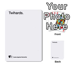 Cards Against Humanity E1 2 By Erik   Multi Purpose Cards (rectangle)   Z7dhs0hxdibl   Www Artscow Com Front 13