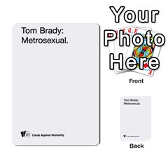 Cards Against Humanity E1 2 By Erik   Multi Purpose Cards (rectangle)   Z7dhs0hxdibl   Www Artscow Com Front 16
