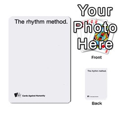 Cards Against Humanity E1 2 By Erik   Multi Purpose Cards (rectangle)   Z7dhs0hxdibl   Www Artscow Com Front 19