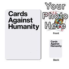 Cards Against Humanity E1 2 By Erik   Multi Purpose Cards (rectangle)   Z7dhs0hxdibl   Www Artscow Com Back 22