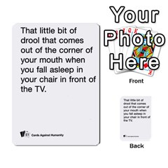 Cards Against Humanity E1 2 By Erik   Multi Purpose Cards (rectangle)   Z7dhs0hxdibl   Www Artscow Com Front 25