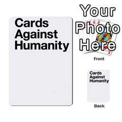 Cards Against Humanity E1 2 By Erik   Multi Purpose Cards (rectangle)   Z7dhs0hxdibl   Www Artscow Com Back 28
