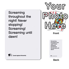 Cards Against Humanity E1 2 By Erik   Multi Purpose Cards (rectangle)   Z7dhs0hxdibl   Www Artscow Com Front 31