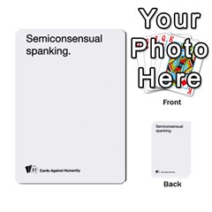 Cards Against Humanity E1 2 By Erik   Multi Purpose Cards (rectangle)   Z7dhs0hxdibl   Www Artscow Com Front 32