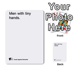 Cards Against Humanity E1 2 By Erik   Multi Purpose Cards (rectangle)   Z7dhs0hxdibl   Www Artscow Com Front 42