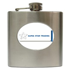 Alpha Star Hip Flask by designmystuff