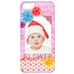 flower, kids , happy - Apple iPhone 5 Classic Hardshell Case