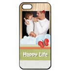 happy kids, family - Apple iPhone 5 Seamless Case (Black)