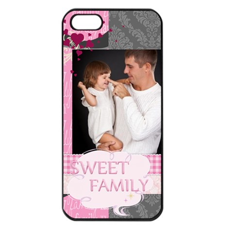 Happy Kids By Jo Jo   Apple Iphone 5 Seamless Case (black)   O3hwmoaq42o9   Www Artscow Com Front