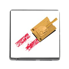 Peace & War   Tank Card Reader With Storage (square) by uTees