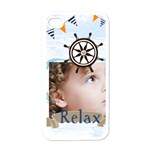 love, kids, happy, fun, family, holiday - Apple iPhone 4 Case (White)