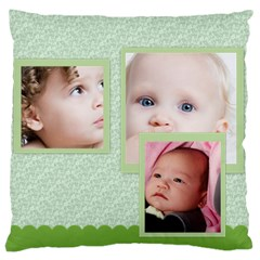 Flower Of Kids, Love, Happy By Mac Book   Large Cushion Case (two Sides)   Wbyyy5bui8mj   Www Artscow Com Back