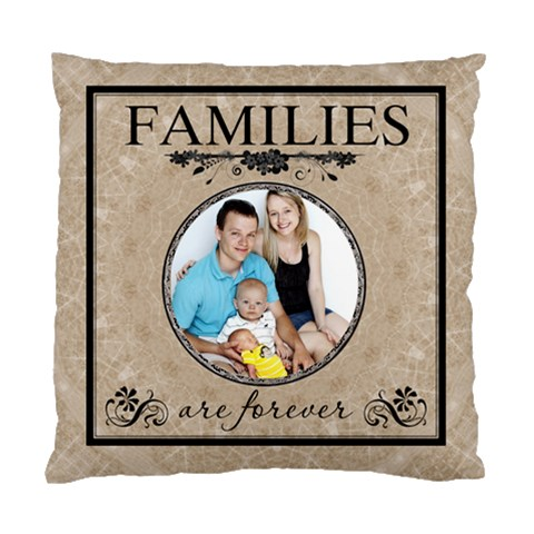 Family Cushion Case (1 Sided) By Lil    Standard Cushion Case (one Side)   Zrcyo88gi6e3   Www Artscow Com Front