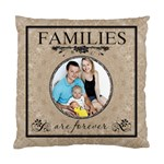 Family Cushion Case (1 Sided) - Cushion Case (One Side)