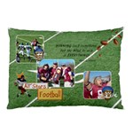 Football Pillow Case (two sides)