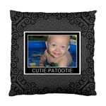 Cutie Patootie Cushion Case (2 Sided) - Standard Cushion Case (Two Sides)