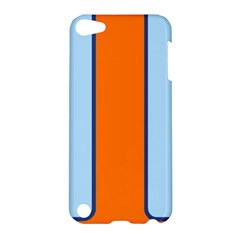 Gulf No Logo Apple Ipod Touch 5 Hardshell Case by PocketRacers