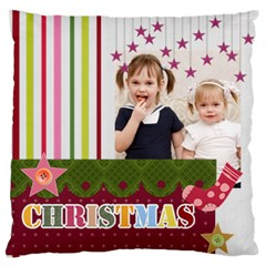 Love, Kids, Memory, Happy, Fun  By Joely   Large Cushion Case (two Sides)   9p4b90nnagcr   Www Artscow Com Front