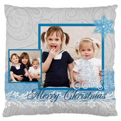 Merry Christmas, Happy New Year, Xmas By Joely   Large Cushion Case (two Sides)   Ccxldl45fe2r   Www Artscow Com Back