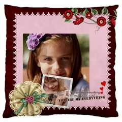Love, Kids, Memory, Happy, Fun  By Joely   Large Cushion Case (two Sides)   Ivua0kdgqy7u   Www Artscow Com Back