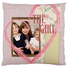 Love, Kids, Memory, Happy, Fun  By Joely   Large Cushion Case (two Sides)   Uanzljrkt9xb   Www Artscow Com Back
