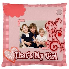 Love, Kids, Memory, Happy, Fun  By Joely   Large Cushion Case (two Sides)   9vqgtkhmzvfd   Www Artscow Com Back