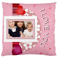 Love, Kids, Memory, Happy, Fun  By Joely   Large Cushion Case (two Sides)   85jw7n2e2qlw   Www Artscow Com Back