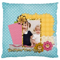 Love, Kids, Memory, Happy, Fun  By Joely   Large Cushion Case (two Sides)   Fseioaqvldax   Www Artscow Com Front