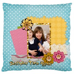 Love, Kids, Memory, Happy, Fun  By Joely   Large Cushion Case (two Sides)   Fseioaqvldax   Www Artscow Com Back