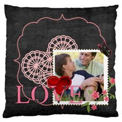 Love, Kids, Memory, Happy, Fun  By Joely   Large Cushion Case (two Sides)   Ps469tsabx54   Www Artscow Com Front