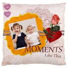 Love, Kids, Memory, Happy, Fun  By Joely   Large Cushion Case (two Sides)   Kw9uukznchk2   Www Artscow Com Front