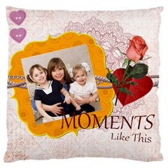 Love, Kids, Memory, Happy, Fun  By Joely   Large Cushion Case (two Sides)   Kw9uukznchk2   Www Artscow Com Back