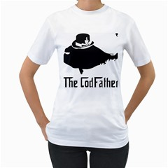 The Codfather White Womens  T Shirt