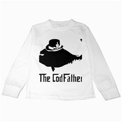 The Codfather White Long Sleeve Kids'' T Shirt