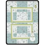 winter day - Fleece Blanket (Large)
