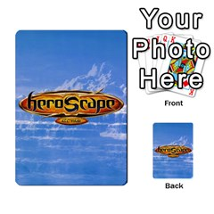 Heroscape Cards 1 By David Becker   Multi Purpose Cards (rectangle)   Czcrhsd9rjft   Www Artscow Com Back 1
