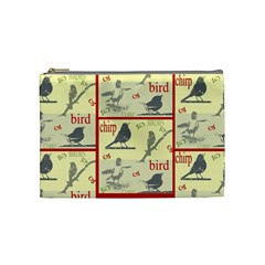 Birdie Case By Kathy   Cosmetic Bag (medium)   Gkgx4yowcvwn   Www Artscow Com Front