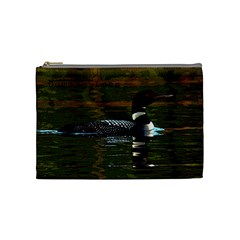 Loon Case By Kathy   Cosmetic Bag (medium)   Fejr0ocjfr2a   Www Artscow Com Front