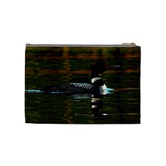 Loon Case By Kathy   Cosmetic Bag (medium)   Fejr0ocjfr2a   Www Artscow Com Back