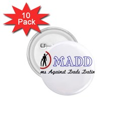 Madd 10 Pack Small Button (round) by OrbTees