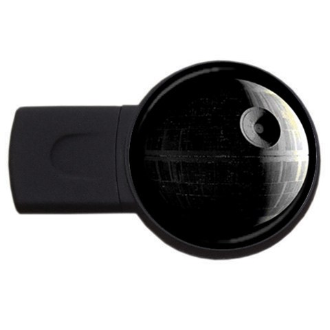 Death Star 4gb By Belling   Usb Flash Drive Round (4 Gb)   J28l3qn7uajb   Www Artscow Com Front