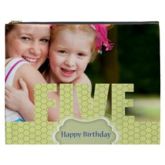 Kids Happy , Fun, Baby, Happy Holiday By Joely   Cosmetic Bag (xxxl)   Nxt7t03ay0fi   Www Artscow Com Front