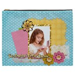 kids happy , fun, baby, happy holiday - Cosmetic Bag (XXXL)