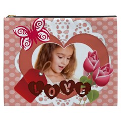 Kids Happy , Fun, Baby, Happy Holiday By Joely   Cosmetic Bag (xxxl)   Zbqr5hwubgjb   Www Artscow Com Front