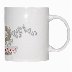 Be Mine Mug By Zornitza   White Mug   1c1xbnrsnd85   Www Artscow Com Right