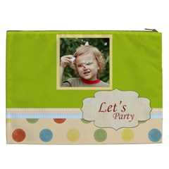 Kids, Love, Fun, Happy, Holiday,child, Love By Jacob   Cosmetic Bag (xxl)   1q5hik2xn80d   Www Artscow Com Back